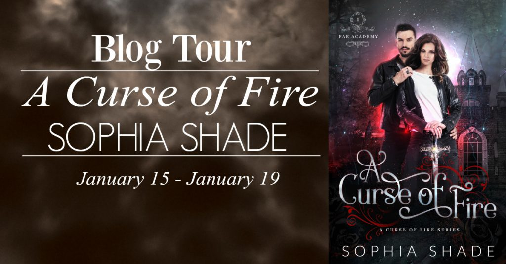 A Curse of Fire by Sophia Shade Blog Tour Review