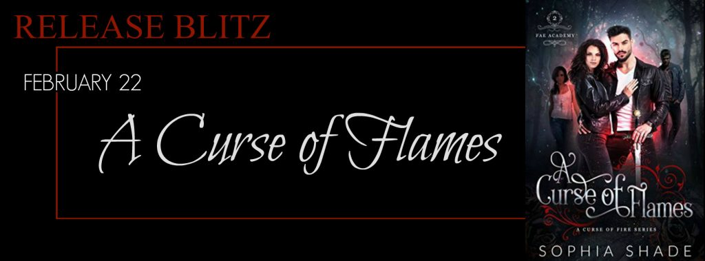A Curse of Flames by Sophia Shade Release Review